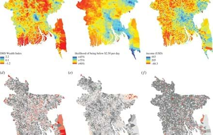 Mapping Poverty Using Mobile Phone And Satellite Data